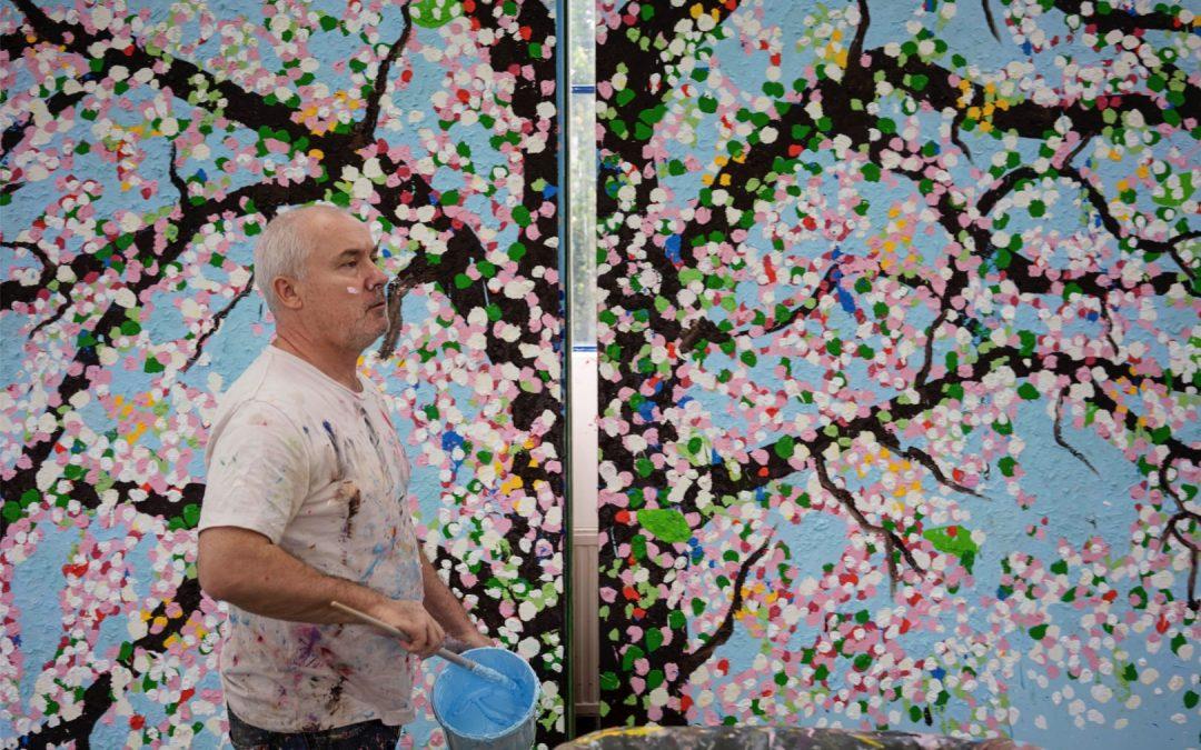 Blütenrausch: Damien Hirst in Paris