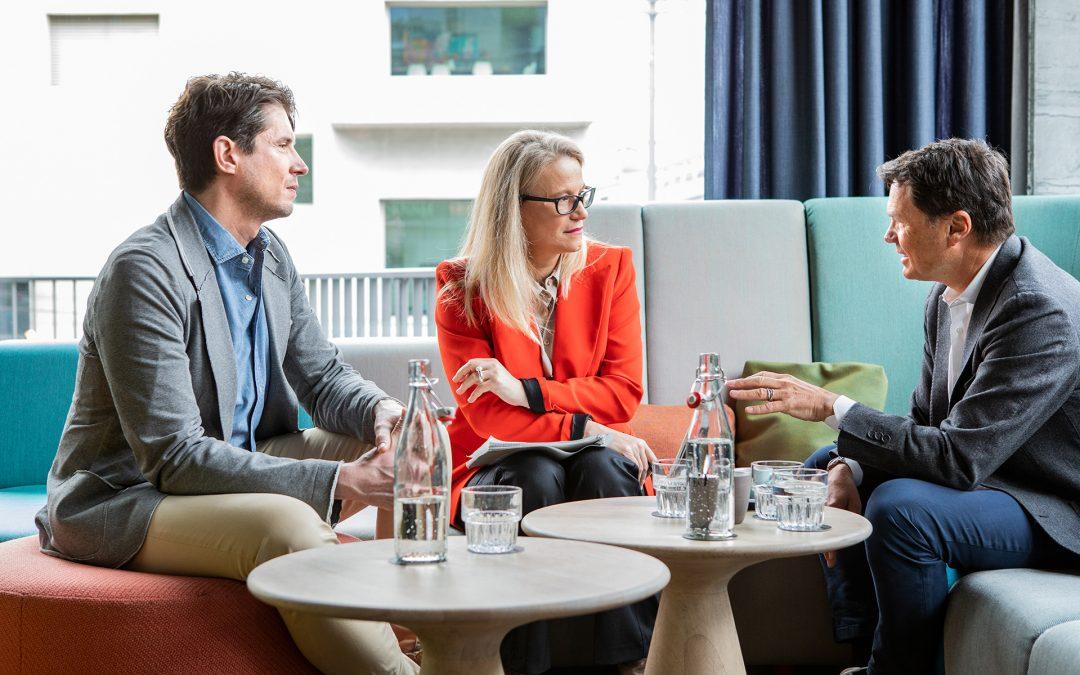 Business Talk: Vizona stellt sich strategisch neu auf
