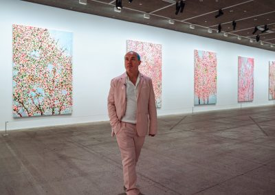 Damien Hirst in Paris
